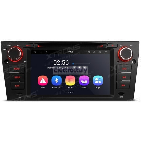 Autoradio Navigatore Bmw Serie E9X Android 8.1 Octacore Multimediale Xtrons