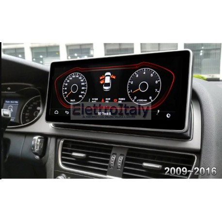 Navigatore Android GPS AUDI Q5 MMI 3G 10 pollici Multimediale