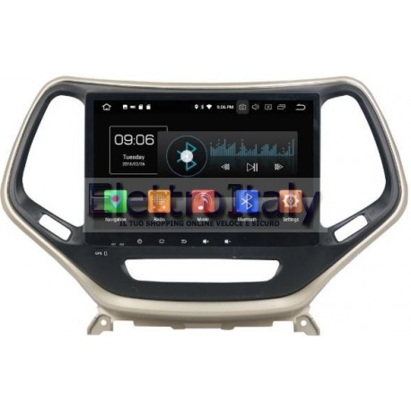Navigatore Jeep Cherokee 10 pollici Android 8 Octacore