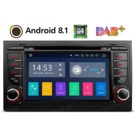Autoradio Navigatore Audi A4 Multimediale Android 8.1 Quadcore