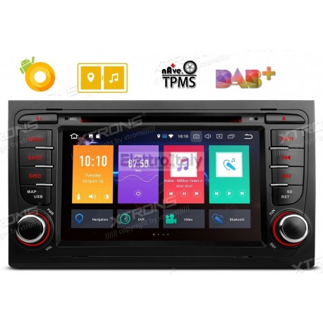 Autoradio Navigatore Audi A4 Multimediale Android 8 Octacore