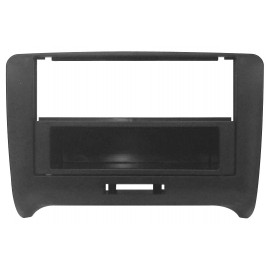 Mascherina con foro 2DIN-ISO colore nero Audi TT 07