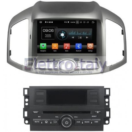 Navigatore Chevrolet Captiva Android 8 Octacore