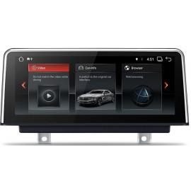 Navigatore BMW Serie 4 Serie 3 F30 F31 F32 F33 F34 F35 F36 10 pollici Android 7