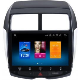 Cartablet Navigatore Mitsubishi ASX Peugeot 4008 10.2 Pollici 4Gb Android 10 WiFi
