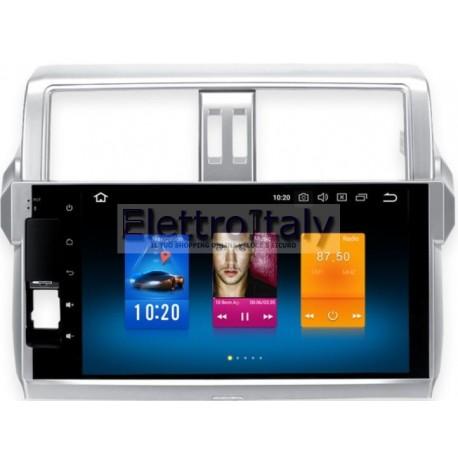 Autoradio Navigatore New Prado 150 Android Multimediale