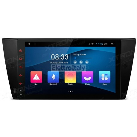 Autoradio Navigatore Bmw Serie E9X Android 8 Quadcore Multimediale Xtrons