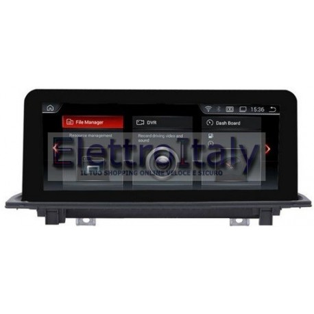 Navigatore Android GPS BMW nuova X1 F48 Multimediale