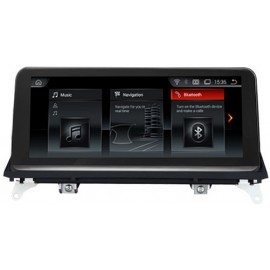 Navigatore BMW X5 X6 CCC 10 pollici Android 8 GPS Multimediale