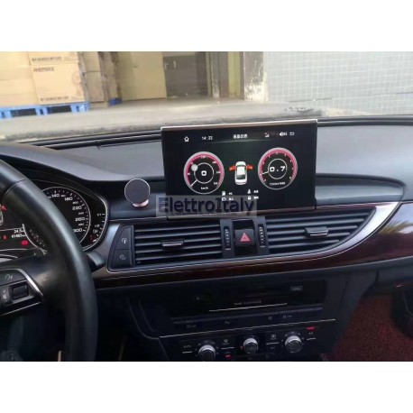 Navigatore Android GPS AUDI A6 8 pollici Multimediale