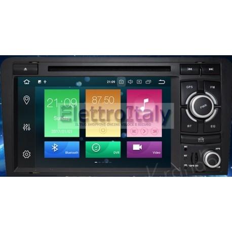 Autoradio Navigatore Audi A3 Multimediale Android 8 Octacore