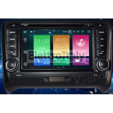 Autoradio Navigatore Audi TT Multimediale Android 8 Octacore