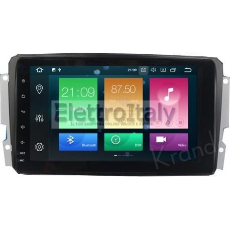 Car Tablet Navigatore Mercedes Classe C W203 Android 9 Octacore