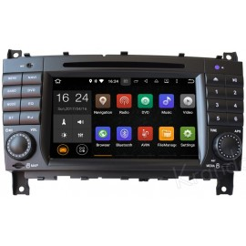 Navigatore Mercedes Classe C W203 Android 10