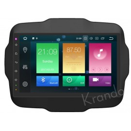 Cartablet Navigatore Jeep Renegade 9 pollici Android 9 Octacore