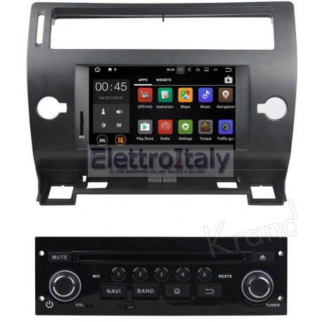 car tablet Navigatore Citroen C4 Android 8