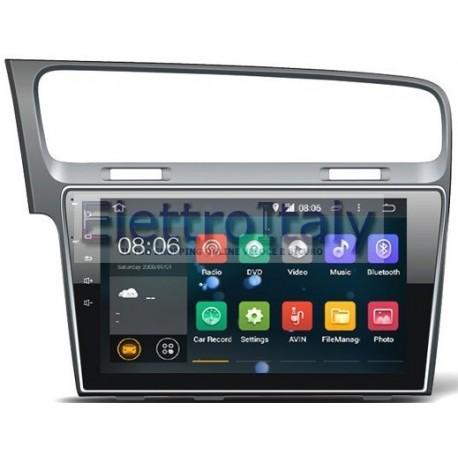 Cartablet Navigatore Volkswagen Golf 7 10 pollici Android 8