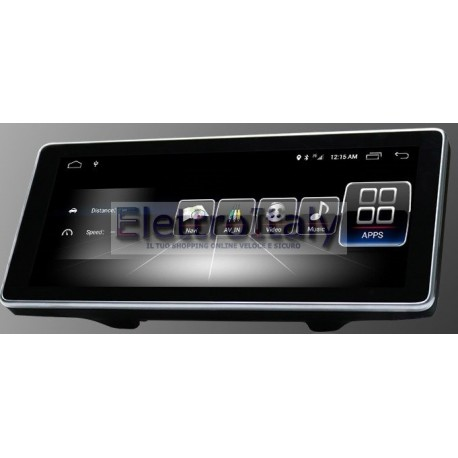 Navigatore 10 pollici Mercedes Classe A CLA GLA CLS NTG 4x Android