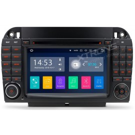 Autoradio Navigatore Mercedes Classe S W220 Android 8.1 Quadcore Multimediale Xtrons