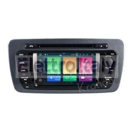 Navigatore Seat Ibiza 7 Pollici Octacore Android 9 WiFi