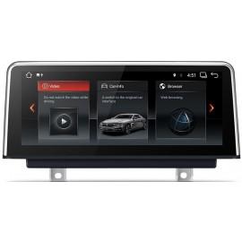 Navigatore BMW Serie 4 Serie 3 F30 F31 F32 F33 F34 F35 F36 10 pollici Android 7.1