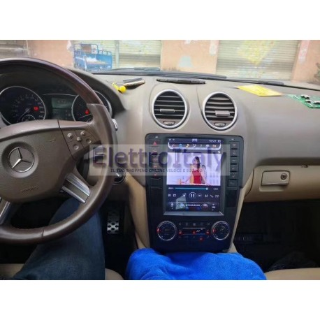 Cartablet Navigatore Mercedes ML GL 10 pollici Android
