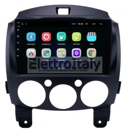 Navigatore Mazda 2 Android 7 Quadcore HDMI