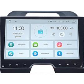 Navigatore Kia Sportage 10 pollici Android 9 Octacore