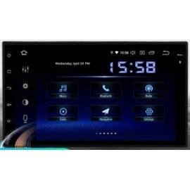 Cartablet Autoradio Navigatore universale 7 pollici Android 9 DSP Carplay Android Auto HDMI