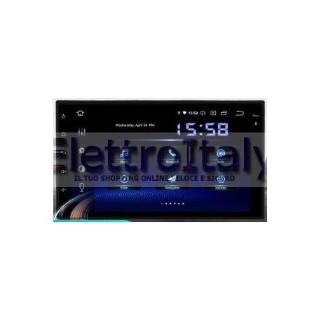 Cartablet Autoradio Navigatore universale 7 pollici Android 9 DSP DAB Carplay Android Auto HDMI