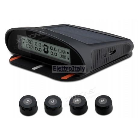 Monitoraggio pressione gomme kit TPMS