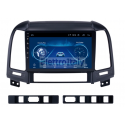 Autoradio Navigatore Hyundai santa fe Multimediale Android 9 Octacore
