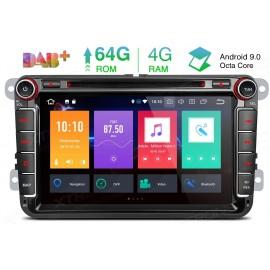 Navigatore Volkswagen Skoda Seat 8 Pollici Octacore Android 9 WiFi