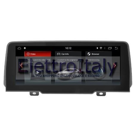 Navigatore BMW X4 EVO G02 10 pollici Android GPS Multimediale
