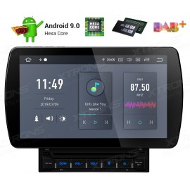 10.1 inch Android 9.0 Hexa-Core 64Bit Processor 4G RAM+64G ROM Anti-Glare Screen Car DVD Player Navigation system with HDMI Outp