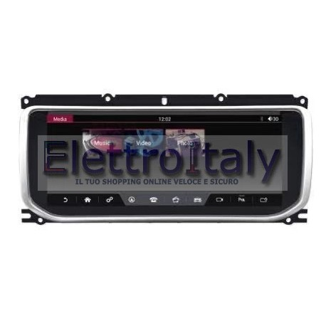 Navigatore Land Rover Vogue Android 10 pollici