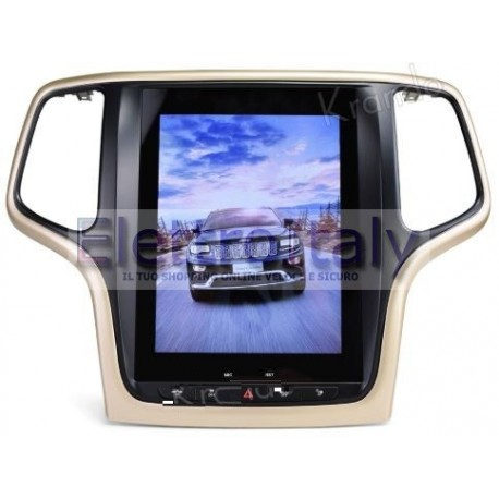 Navigatore Jeep Gran Cherokee 13 pollici TESLA Android 8 Octacore