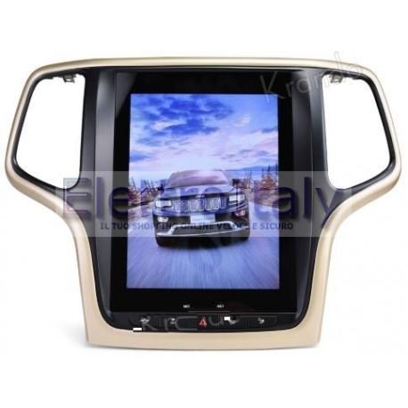 Navigatore Jeep Gran Cherokee 13 pollici TESLA Android 8 Octacore