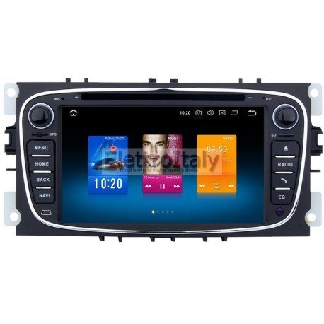 Autoradio Navigatore Ford Focus Mondeo S-max Android 9.0 Octacore Multimediale