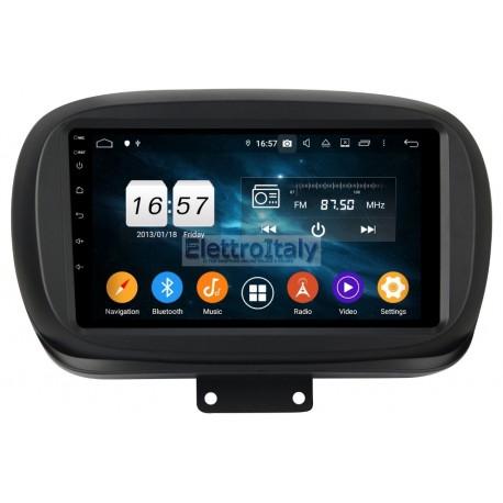Autoradio Navigatore Fiat 500X Multimediale Carplay
