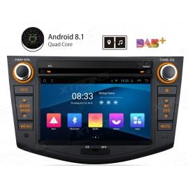 Autoradio Navigatore Toyota Rav 4 Android 8 Multimediale Xtrons