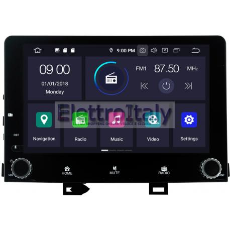 Navigatore Kia Rio Android 8 Octacore