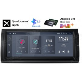 Autoradio Navigatore 10 pollici Bmw Serie E53 E39 X5 Android 9 Multimediale