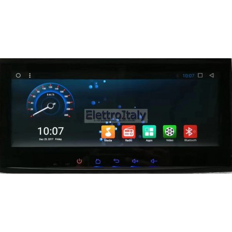 Navigatore Volkswagen Touareg 8 Pollici Android 8 WiFi