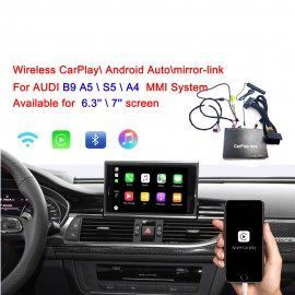 INTERFACCIA VIDEO Carplay android auto per AUDI B9 A4 A5 S5 MMI