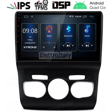 Autoradio Navigatore Citroen C4 DS4 Android Multimediale
