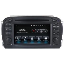 Autoradio Navigatore Mercedes Classe R230 SL Android Quadcore
