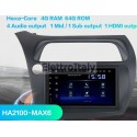 Cartablet Navigatore Honda Civic Android Multimediale