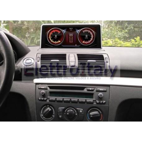 Navigatore BMW Serie 1 E87 Android 10 pollici