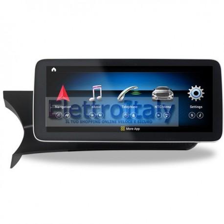 Navigatore 10 pollici Mercedes Classe C GLC NTG 4x Android 10